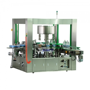 zhejiangOpp Hot Melt Large Round Bottle Labeling Machine
